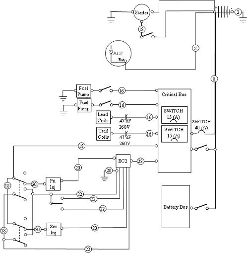 electric schematic aircraft electrical Drawing a Logical Diagram at soozxer.org