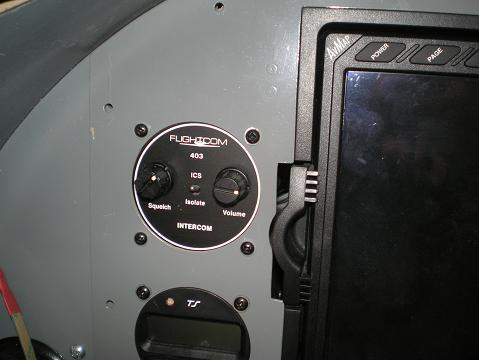 Flightcom 403S Intercom