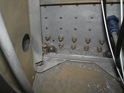 Inside gear box