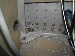 Inside gear box