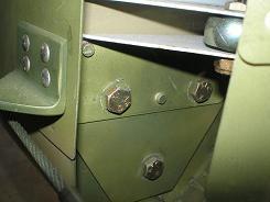 Lower aft vertical stabilizer bolts
