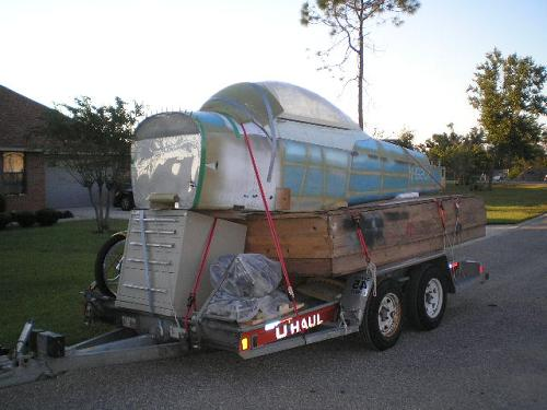 Moving day from Pensacola to Lousiana.