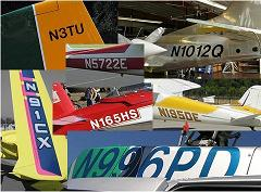 Valid FAA N-numbers
