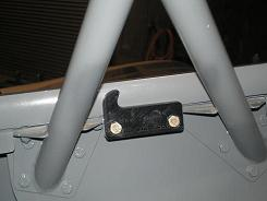 Rear canopy stop