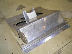 Rear stick hole cover plate