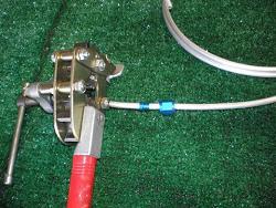 Tube in flaring tool
