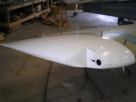 Fiberglass wingtip