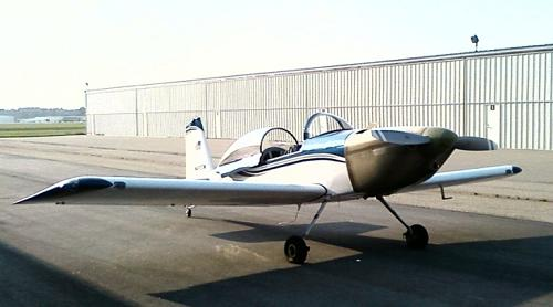 My RV-8, January 2012