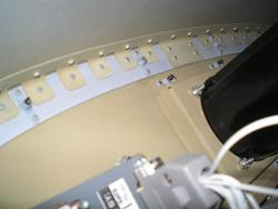 Dynon bracket from behind panel
