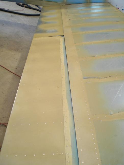 Aileron and flap