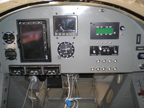 Main instrument panel