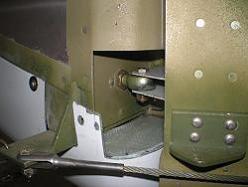 Rudder fiberglass bottom