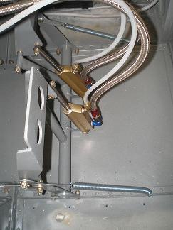 Rudder pedal springs