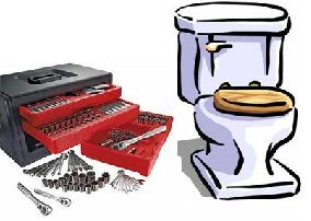 If you own a set of tools, and you fix your own plumbing...